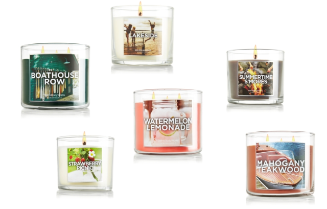 Bath and Body Works Lakeside Collection