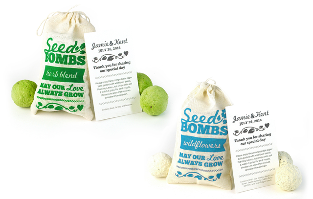 Botanical Paperworks Seed Bombs