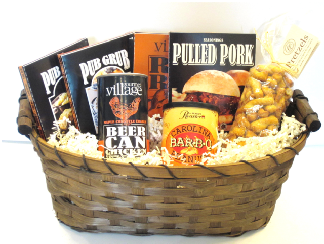 Father's Day Beer Can Chicken Gift Basket The Gift Box Shop