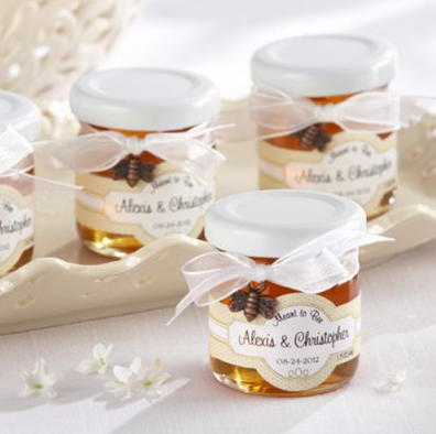Meant To Bee Personalized Honey Jars