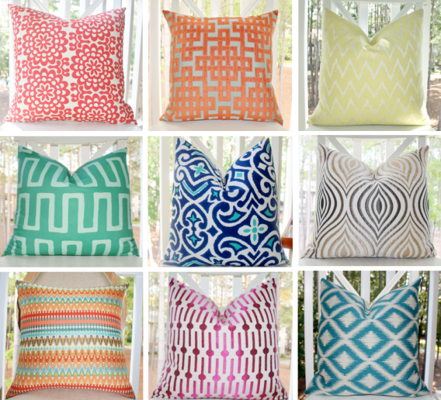 Motif Pillow Covers