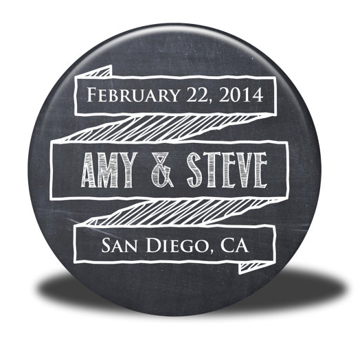 Personalized Wedding Favours by Simply Sarah Crafts