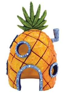 Pineapple Home Fish Tank Ornament