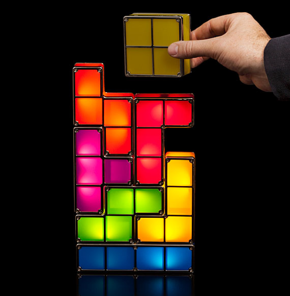 Tetris Stackable LED Lamp