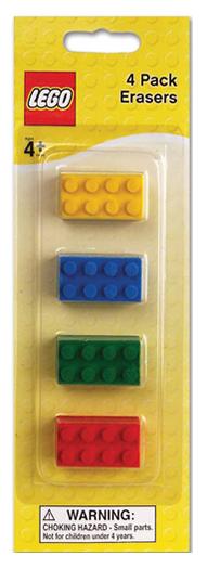 Lego Erasers