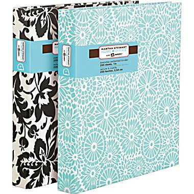 Martha Stewart Everyday Binders