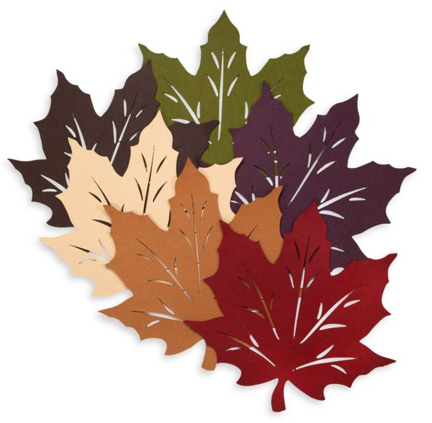 Felt Leaf Placemat