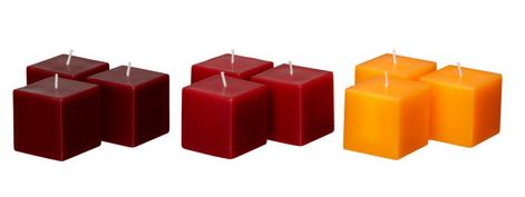 FYRKANTIG Candle