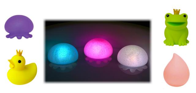 I Love New Yoku Bath Lights
