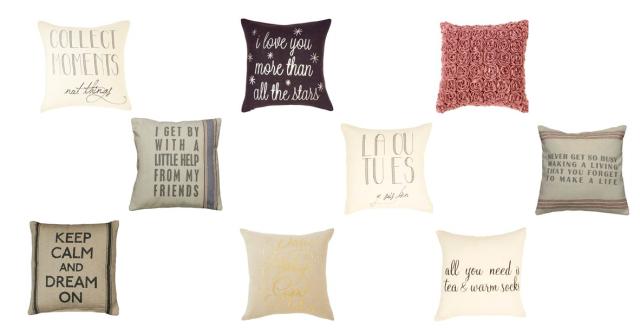 Indigo Pillow Collection