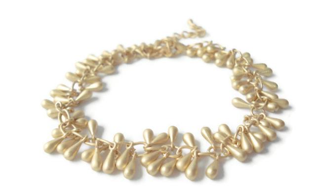 Castellammare Gold Fringe Bracelet