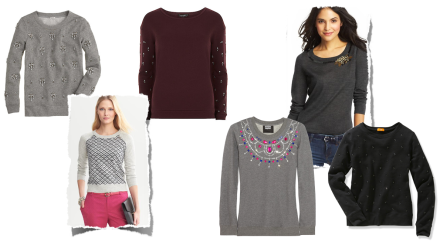 Embellished Sweaters