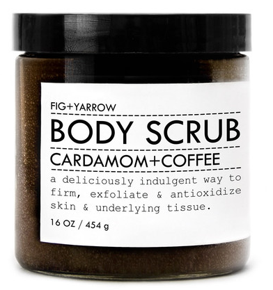 Fig+Yarrow Cardamom+Coffee Body Scrub