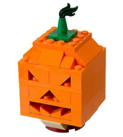Halloween Pumpkin Lego