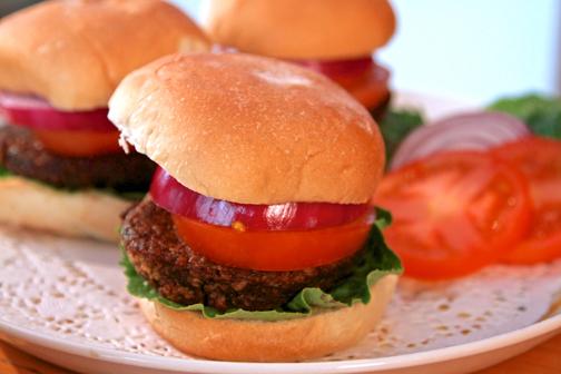 Jazzy-Vegetarian-Burgers