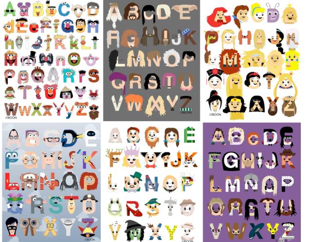 Mike Boon Alphabet