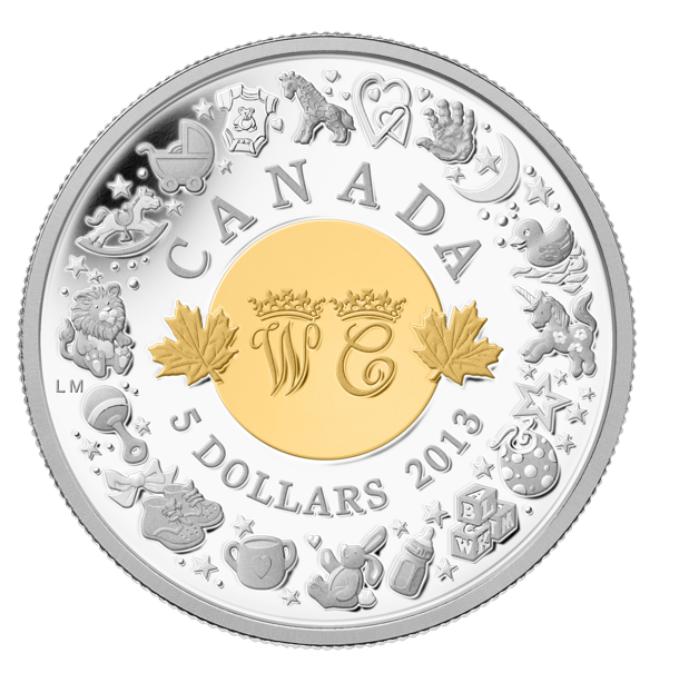 Royal Canadian Mint Fine Silver Coin Royal Baby