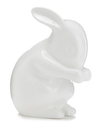 White Rabbit Rabbit Lamp