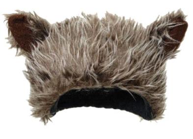 Wolfman Werewolf Ears Hat