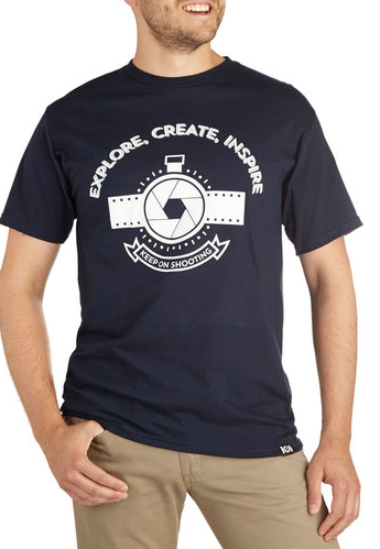 Cute As A Shutterbug Tee