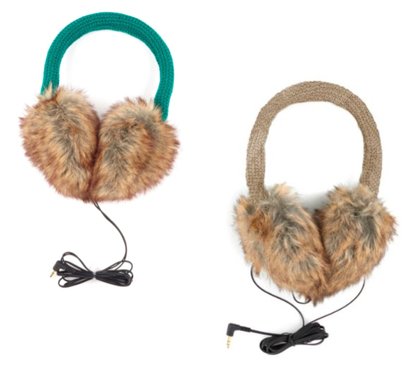 Echo Design Solid Earmuffs With Headphones