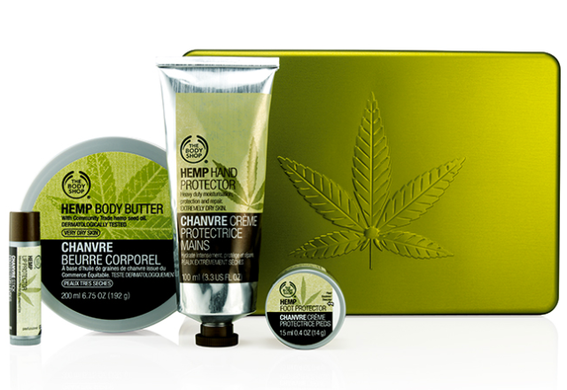The Body Shop Festive Medium Hemp Set