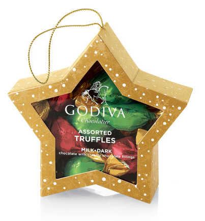 Godiva Truffle Star