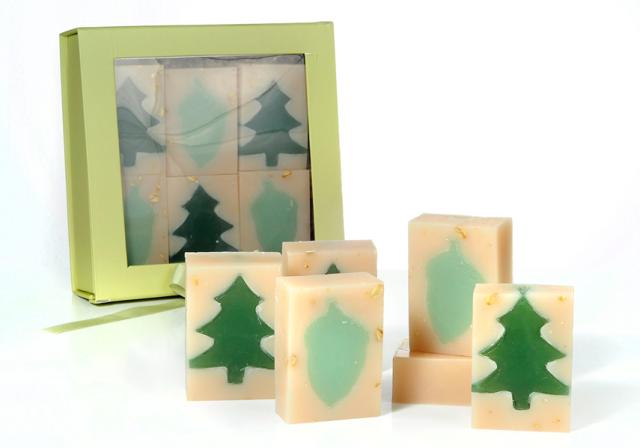 Holiday Soap Gift Box