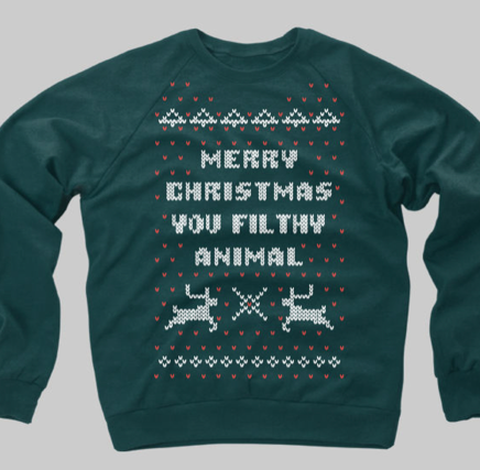 Home Alone Christmas Sweater Crewneck Sweatshirt