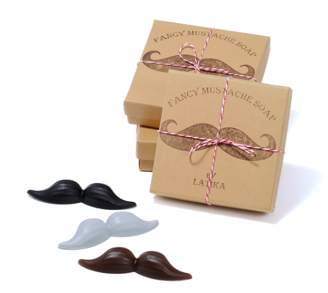 Latika Fancy Mustache Soap