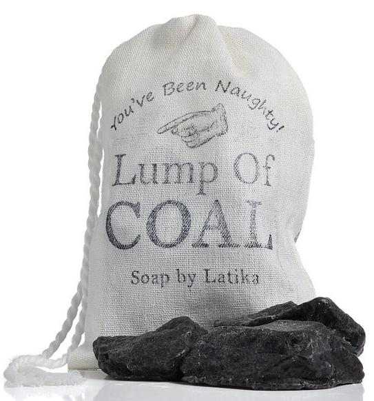 Latika Lump of Coal Soap