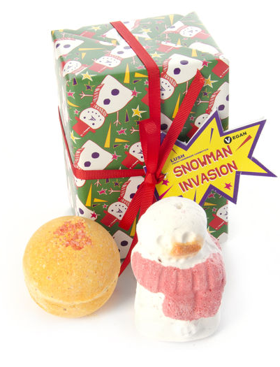 Lush Snowman Invasion Gift