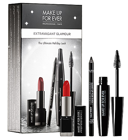 MAKE UP FOR EVER Extravagant Glamour Set