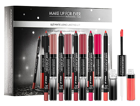 MAKE UP FOR EVER Ultimate Long Lasting Lip Collection