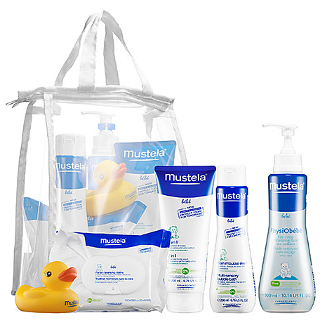 MUSTELA Bath Time Essentials Set
