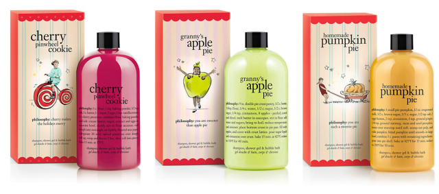 philosophy Holiday Shampoo Shower Gel Bubble Bath