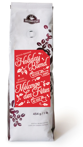 Second Cup Holiday Blend Coffee