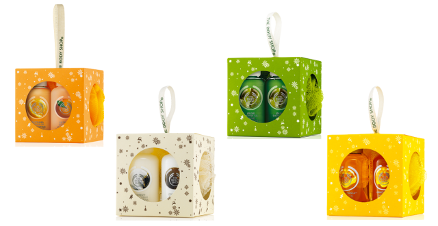 The Body Shop Festive Gift Cubes