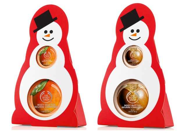 The Body Shop Snowman Duos