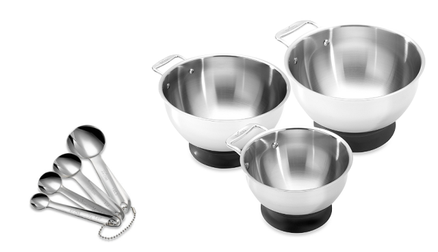All-Clad Mixing Bowls and Measuring Spoons