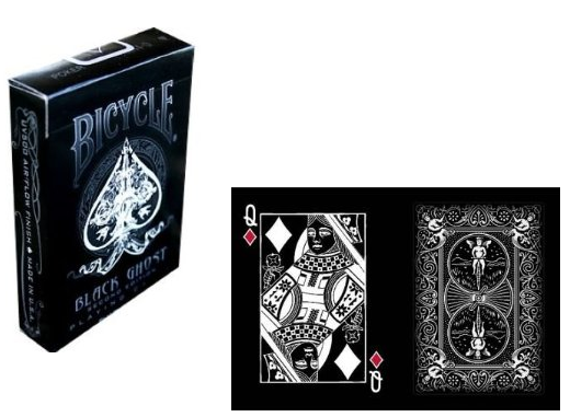 Bicycle Black Playing Cards