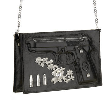 Elle Hardware Beretta Zip Clutch Bag
