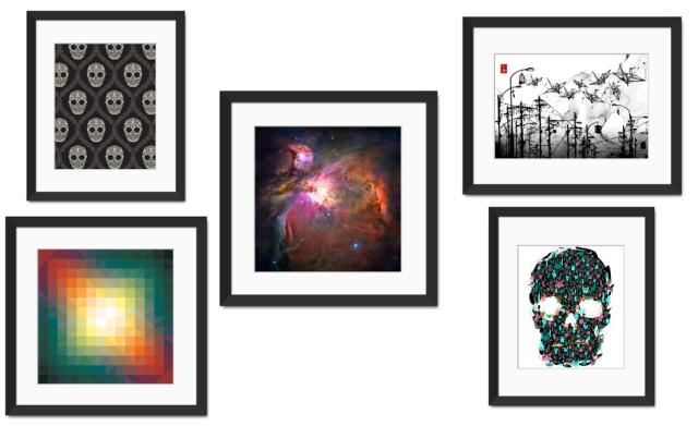 GelaSkins Framed Art Prints