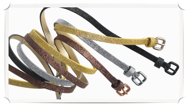 JOE FRESH Glitter Belts