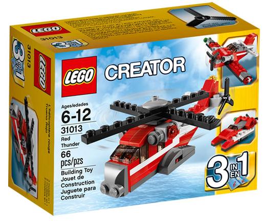 LEGO Creator Red Thunder