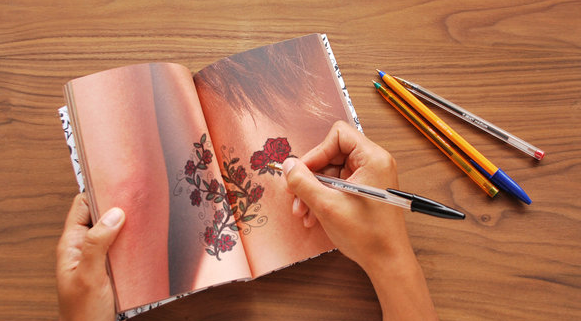 Suck UK Tattoo Notebook
