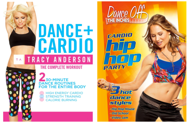 Tracey Anderson Dance + Cardio and Cardio Hip Hop Party