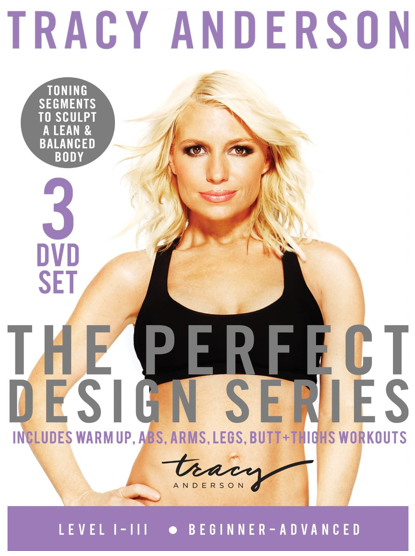 Tracy Anderson Perfect Design Series DVD Box Set