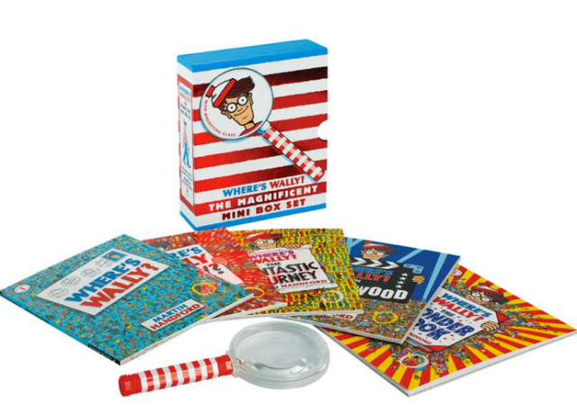Where's Waldo Magnificent Mini Box Set