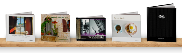 Blurb Sample Books